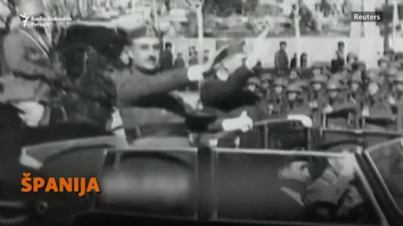 Ekshumacija španskog diktatora