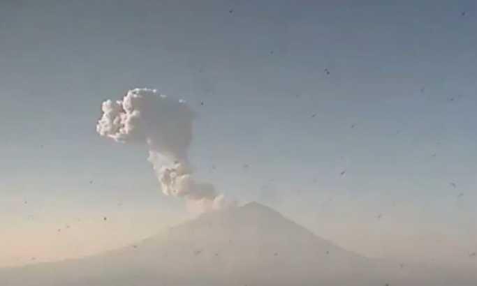 Eksplodirao Popokatepetl, ugroženo 20 naselja (video, foto)