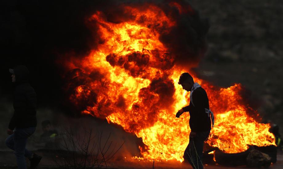 Eksplozija i požar na gasovodu u Lugansku
