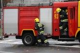 Eksplozija i požar u centru Beograda