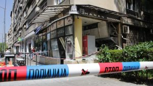 Eksplozija i požar u restoranu na Vračaru, povređena jedna osoba
