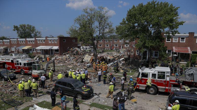 Eksplozija plina u Baltimoru, nastradala jedna žena