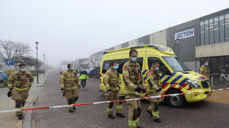 Eksplozija pored COVID centra u Holandiji