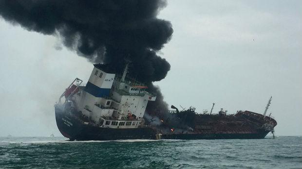 Eksplozija tankera u Hongkongu, poginula jedna osoba
