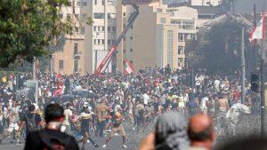 Eksplozija u Bejrutu: Sukob policije i demonstranata u prestonici Libana