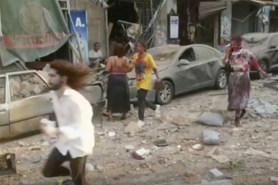Stravična eksplozija u Bejrutu - Poginulo najmanje 135 ljudi, više od 5.000 povređenih (VIDEO)
