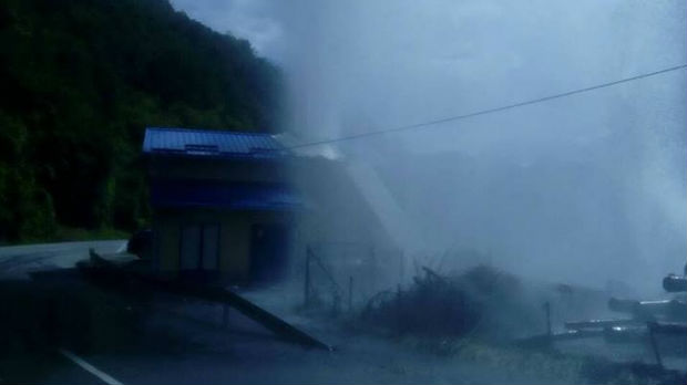 Kvar u maloj hidroelektrani u Jošaničkoj banji, voda izbila na put