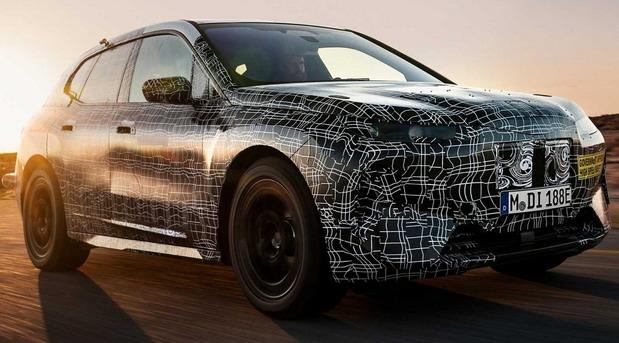Električni BMW iNEXT na novim slikama