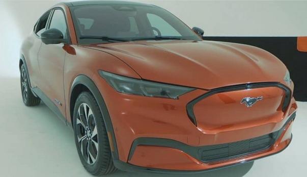 Električni Ford Mustang Mach E – nove slike
