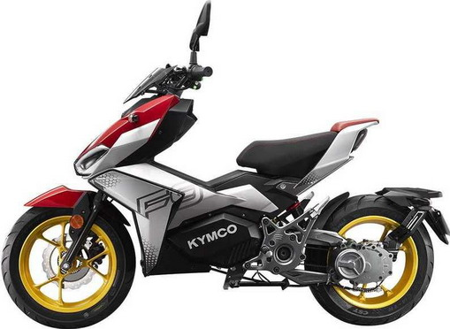 Električni Kymco F9