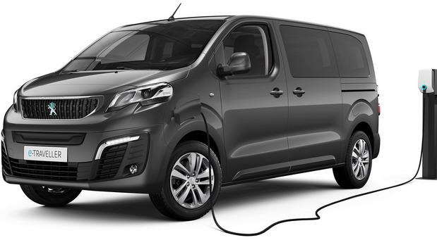 Električni Peugeot e-Traveller
