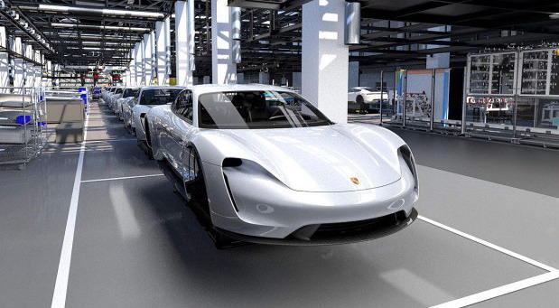 Električni Porsche Taycan otvara 1.200 novih radnih mesta