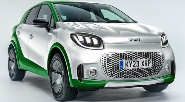 Električni Smart SUV za 2022. godinu