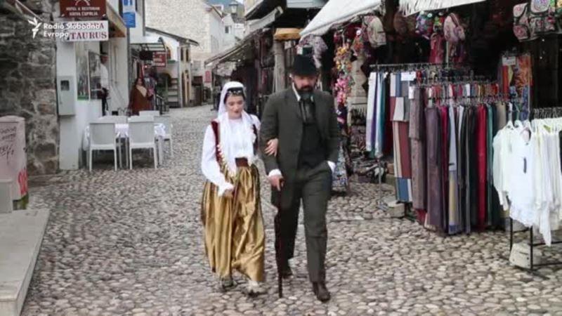 Emina i Aleksa prošetali Mostarom