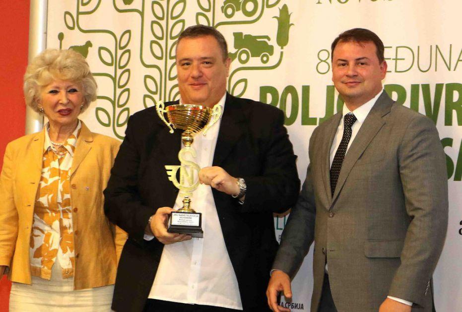 Emisiji Brazde RTV-a nagrada na Poljoprivrednom sajmu