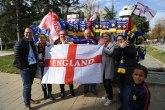 Englezi na Kosovu psovali Srbiju i pokazivali dvoglavog orla VIDEO