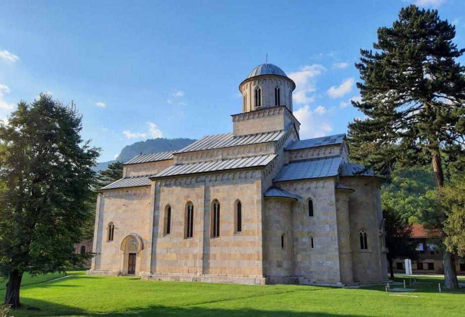 Eparhija: Napadi na objekte Srpske pravoslavne crkve imaju etničku i versku pozadinu