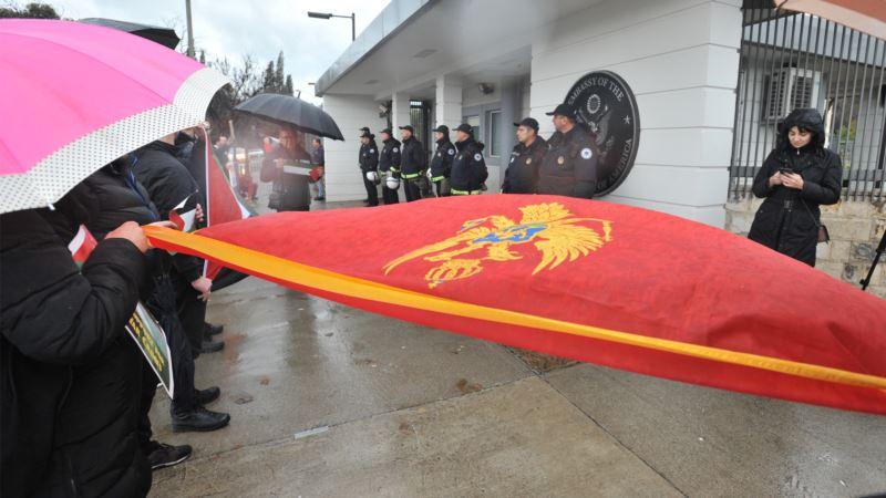 Eparhije SPC osudile paljenje državnih simbola Crne Gore