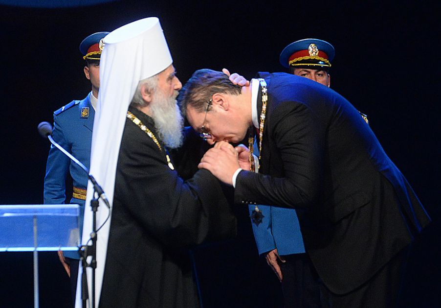 Episkop Maksim o ordenu Vučiću