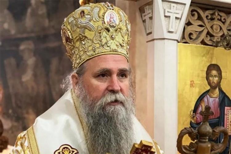 Episkop budimljansko-nikšićki Joanikije postavljen za administratora Mitropolije crnogorsko-primorske