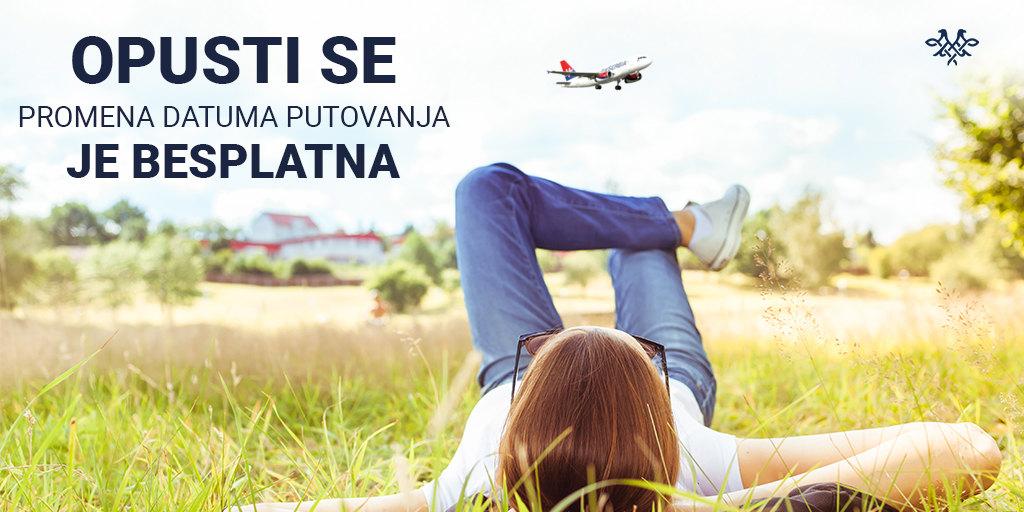 Er Srbija omogućila besplatnu promenu datuma putovanja