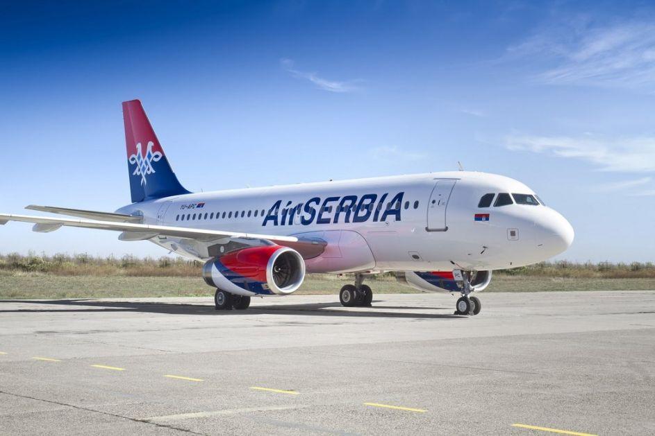 Er Srbija ponovo leti za tursko primorje