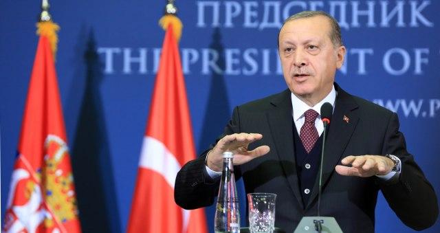 Erdogan: Milion izbeglica u zonu mira
