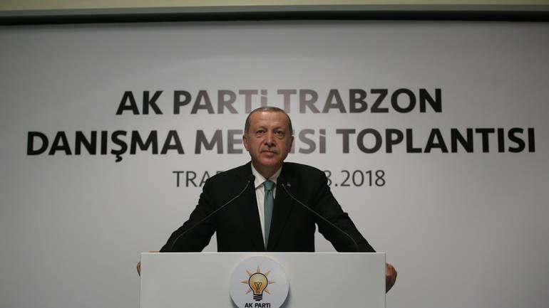 Erdogan: Pad lire je rezultat političke urote protiv Turske