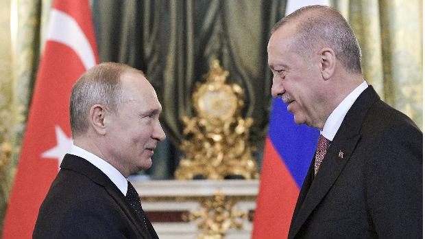 Erdogan Putinu: Napadi u Siriji uzrokuju humanitarnu krizu