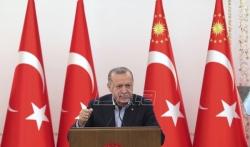 Erdogan izjavio da su Bajdenu ruke krvave jer podržava Izrael