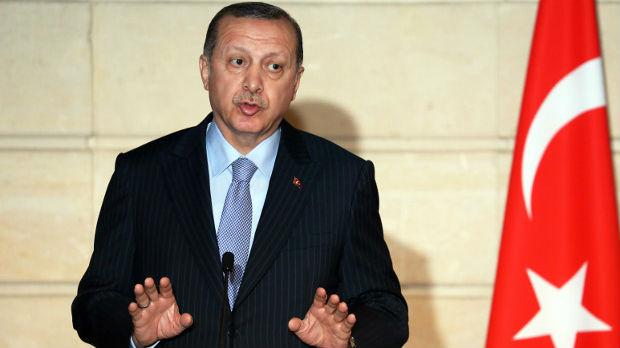 Erdogan s Putinom,Trampom, Makronom o operaciji u Siriji