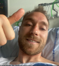 Eriksen se oglasio iz bolnice FOTO