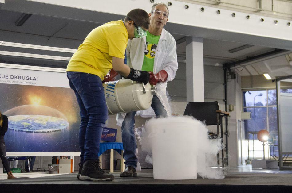 Eskperimenti i naučni izazovi na programu na Festivalu nauke