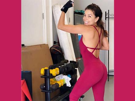 Eva Longoria postala zavisna od rekvizita za vežbanje VIDEO