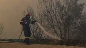 Evakuacije u blizini Atine zbog šumskih požara