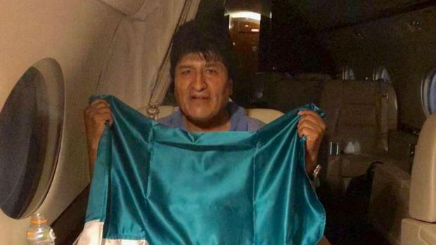 Evo Morales prihvatio azil u Meksiku