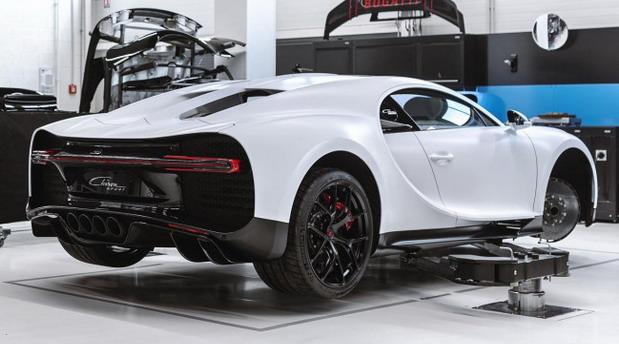Evo koliko košta održavanje Bugattija Chiron