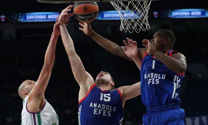 Evroliga: Efes protutnjao Tel Avivom, Štimac odličan, Real ponižen u Baskiji, drama u Malagi