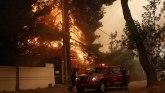 Evropa i požari: Vatra se širi po šumama blizu grčke prestonice, kritično na Sardiniji