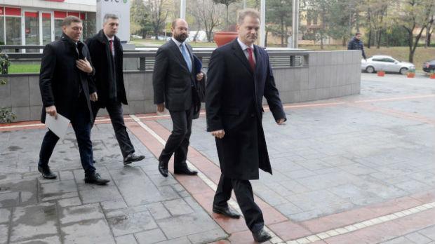 Evroparlamentarci na sastanku s predstavnicima SzS i PSG