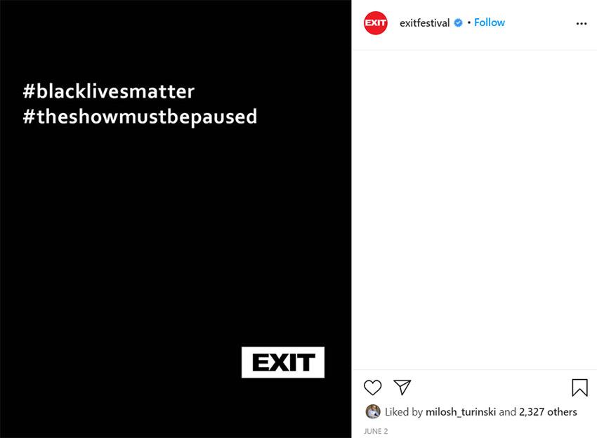 Exit se konačno oglasio o protestima i – bolje da su ćutali
