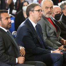 FANTASTIČNE IDEJE I IZVANREDNA VIZIJA: Vučić nakon potpisivanja sporazuma - od Beograda do Tirane bez zaustavljanja