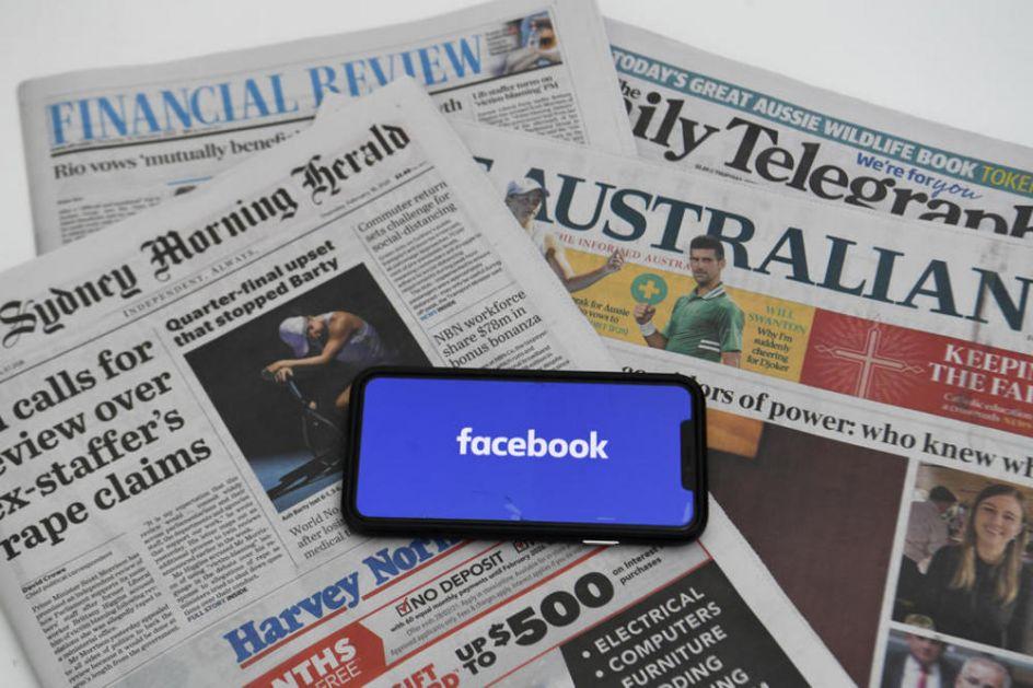 FEJSBUK UKIDA ZABRANU Ponovo će biti omogućeno čitanje i deljenje vesti u Australiji