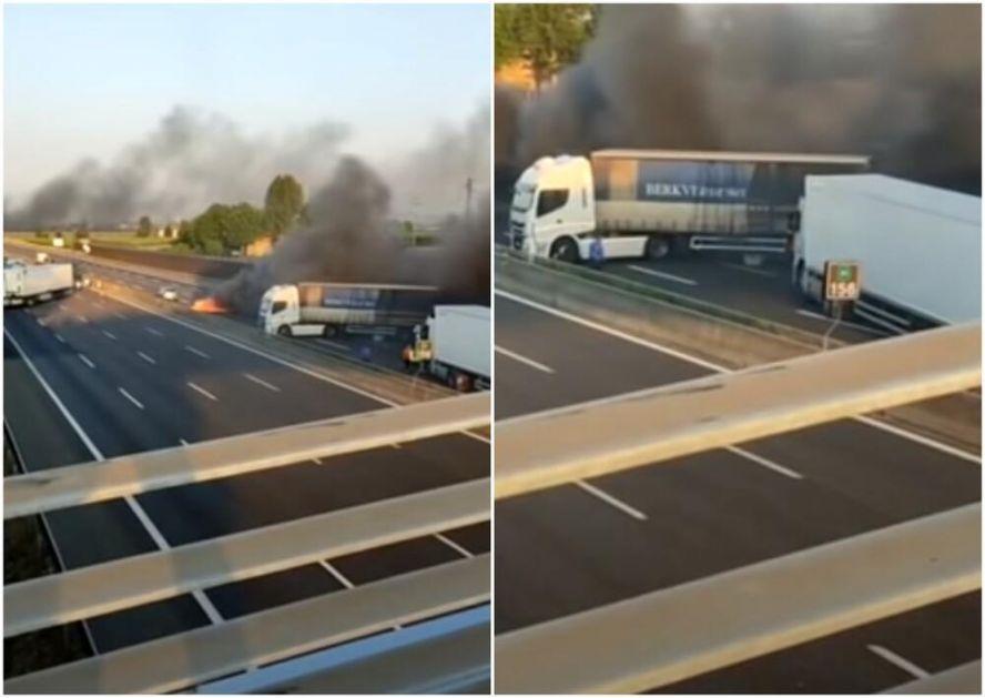 FILMSKA PLJAČKA U MODENI: Prvo put posuli ekserima, pa naterali kamiondžije da naprave barikade, ali su na kraju neslavno prošli!