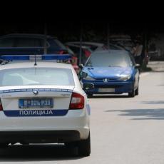 FILMSKA POTERA NA ULICAMA LAZAREVCA: Bahati vozač bežao od policije, a kada su ga uhvatili, napao službena lica