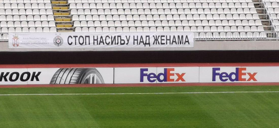 FK Partizan protiv nasilja nad ženama