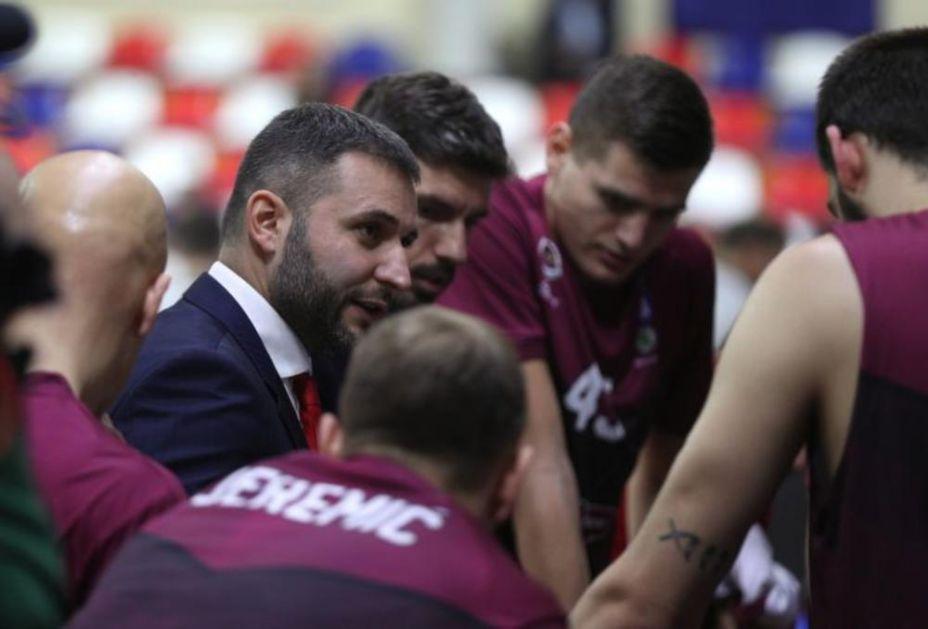 FMP POSLE DVA KOLA JEDINA NEPORAŽENA EKIPA IZ SRBIJE! Vladimir Jovanović: Imamo zadatak da se i sledeće sezone takmičimo u ABA ligi, da igramo lepo i da mladi igrači napreduju