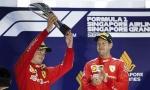 FORMULA 1: Dupla pobeda Ferarija u Singapuru