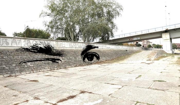 FOTO: Novi Sad dobija privremene murale, rad istaknutog umetnika