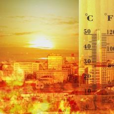 (FOTO) SRBIJA KAO U LONCU: Pogledajte gde su danas izmerene rekordne temperature - OVI GRADOVI se doslovno tope
